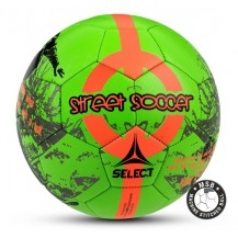 SELECT STREET SOCCER NEW, м'яч ф/б ((203) зел/помаранч, 4,5)	095521 з/п Select
